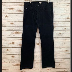 CIDRA ANTHROPOLOGIE Black Corduroy Boot Cut Pants